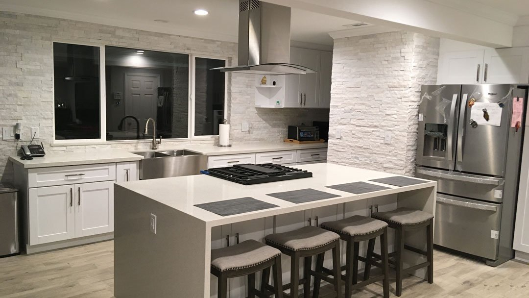 Kitchen remodeling open concept
